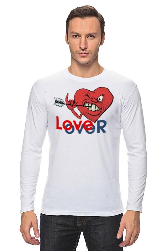 Фото - Лонгслив Printio Любовь окончена футболка рингер printio любовь окончена
