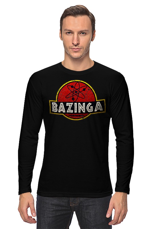 Лонгслив Printio Bazinga! худи print bar bazinga