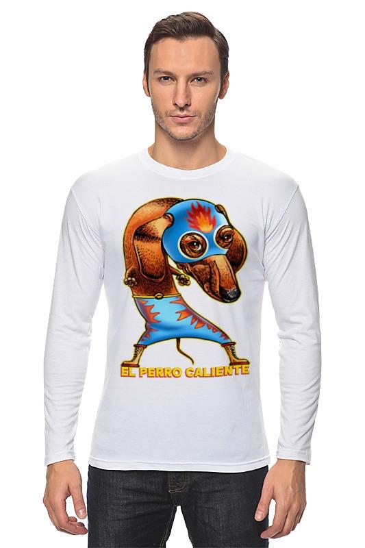 Лонгслив Printio Собака супергерой