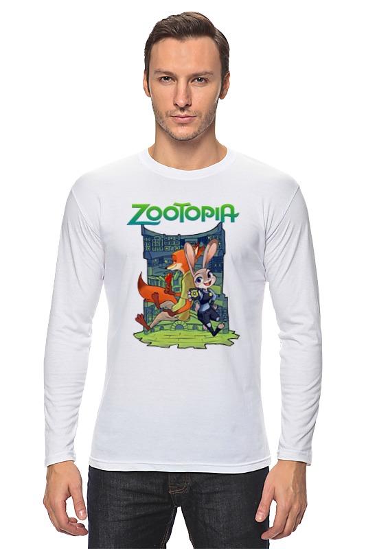 Лонгслив Printio Zootopia stylish long smoky gray movie zootopia judy hopps cosplay wig with double braided