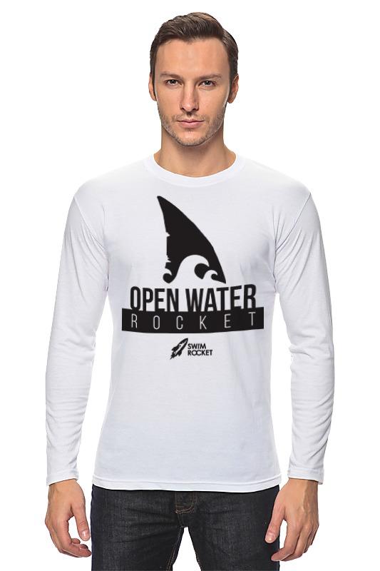 Лонгслив Printio Open water rocket майка классическая printio open water rocket