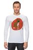 "Лонгслив ""Boxers puppy"" - dog, щенок, боксёр, boxer"