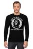 "Лонгслив ""Che Guevara Skull"" - skull, череп, зомби, чегевара, che guevara"