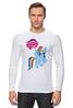 """Лонгслив """"my little pony girl"""" - my little pony, пони, для детей, детское"""