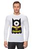 "Лонгслив ""миньон Бэтмен"" - comics, комикс, batman, супергерой, dc, гадкий я, despicable me, minion"