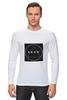 """Лонгслив """"Футболка с логотипом LOOK"""" - современная, круг, молодежная, квадрат, look, swag, trap, triangle, черный квадрат, абстракт"""
