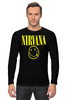 "Лонгслив ""Nirvana"" - nirvana, рок, курт кобейн, нирвана, куртка бейна"
