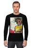 "Лонгслив ""Jean-Michel Basquiat"" - граффити, корона, basquiat, баския, жан-мишель баския"
