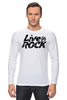 "Лонгслив ""Футболка LiveInRock"" - рок, rock"