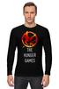 """Лонгслив """"Голодные Игры (The Hunger Games)"""" - голодные игры, the hunger games"""