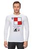 "Лонгслив ""Uniform (U), флаг МСС (eng) for girl"" - море, флаг, яхтинг, мсс, boatstyle"