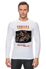 "Лонгслив ""Nirvana Unplagged album t-shirt"" - гранж, nirvana, kurt cobain, курт кобейн, нирвана"