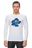 """Лонгслив """"Mega Man (8-bit)"""" - 8 bit, capcom, mega man"""