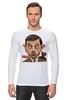 "Лонгслив ""Mr.Bean"" - мистер бин, mr bean, актёр, роуэн аткинсон, rowan atkinson"