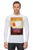 """Лонгслив """"Космический туризм"""" - звезды, планета, космос, научная фантастика, постер"""