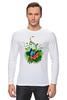 """Лонгслив """"Бабочка"""" - бабочка, лето, цветы, отдых, природа, путешествия, экзотика, тропики"""