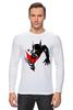 """Лонгслив """"Bad Batman (Плохой Бэтман)"""" - batman, бэтмен"""