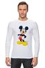 "Лонгслив ""Микки Маус"" - арт, ретро, дисней, mickey mouse"