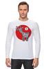 """Лонгслив """"Символ 2015"""" - новый год, символ, 2015, коза, goat"""