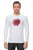 """Лонгслив """"Стилизованный  винтажный арт-цветок"""" - арт, авторские майки, цветы, узор, стиль, flower, рисунок, винтаж, мак, poppy"""