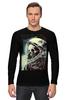 """Лонгслив """"мертвый космос"""" - skull, череп, space, космос, astronaut, death, смерть, dead, космонавт"""