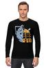 """Лонгслив """"Daleks x Cybermen (Daft Punk)"""" - doctor who, daft punk, доктор кто"""