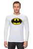 """Лонгслив """"Бэтман"""" - batman, супергерой, бэтман"""