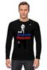 """Лонгслив """"Владимир Путин - За будущее России"""" - россия, путин, putin, владимир путин, путин царь"""