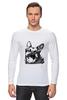 "Лонгслив ""Овчарка"" - dog, собака, пёс, german shepherd, немецкая овчарка"