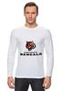 "Лонгслив ""Cincinnati Bengals"" - тигр, nfl, американский футбол, cincinnati, цинциннати бенгалс"