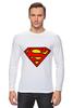 "Лонгслив ""Supergirl"" - comics, superman, dc"
