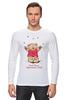 """Лонгслив """"Happy Valentnine's Day"""" - медведь, день святого валентина, мишка, обними меня, hug me"""