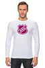 "Лонгслив ""National Hockey League"" - хоккей, nhl, нхл"