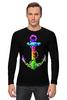 """Лонгслив """"Якорь"""" - море, якорь, sea, путешествия, anchor, sailor"""