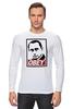 "Лонгслив ""Путин OBEY"" - стиль, россия, russia, путин, президент, swag, obey, putin"