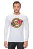 """Лонгслив """"Ховерборд (Назад в будущее)"""" - ховерборд, hoverboard, back to the future, назад в будущее"""