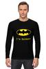 """Лонгслив """"batman"""" - прикольные, batman, бэтман"""