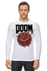 "Лонгслив ""Doom game "" - games, игра, game, doom, 90's, video games, дум, игы"
