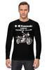 """Лонгслив """"Kawasaki W800"""" - байк, moto, kawasaki, classicmoto, w800"""