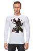 """Лонгслив """"Mortal Kombat"""" - скорпион, mortal kombat, смертельная битва, мортал комбат, scorpion"""
