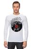 """Лонгслив """"Виниловая пластинка"""" - арт, винил, ноты, vinyl, грампластинка"""