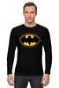"Лонгслив ""Batman (8-bit)"" - batman, бэтмен, пиксели, 8-бит, 8-bit"