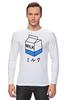 """Лонгслив """"milk 1"""" - молоко, аниме, япония, japan, milk"""