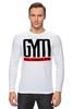 """Лонгслив """"GYM ULTIMATE"""" - gym, мотивация, сила, стремление, спортзал"""