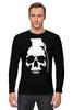 "Лонгслив ""Череп Граната"" - skull, череп, граната"