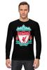 "Лонгслив ""Liverpool (Ливерпуль)"" - football, uk, ливерпуль, liverpool, футбольный клуб"