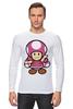 """Лонгслив """"Toadette (Mario)"""" - супербратья марио"""