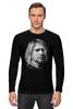 "Лонгслив ""Kurt Cobain"" - nirvana, рок, kurt cobain, курт кобейн, нирвана"