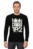 "Лонгслив ""blink-182 smile shirt"" - blink-182, ava, blink182, angels and airwaves"