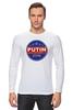 "Лонгслив ""Путина в президенты Америки (2016)"" - usa, путин, сша, putin"